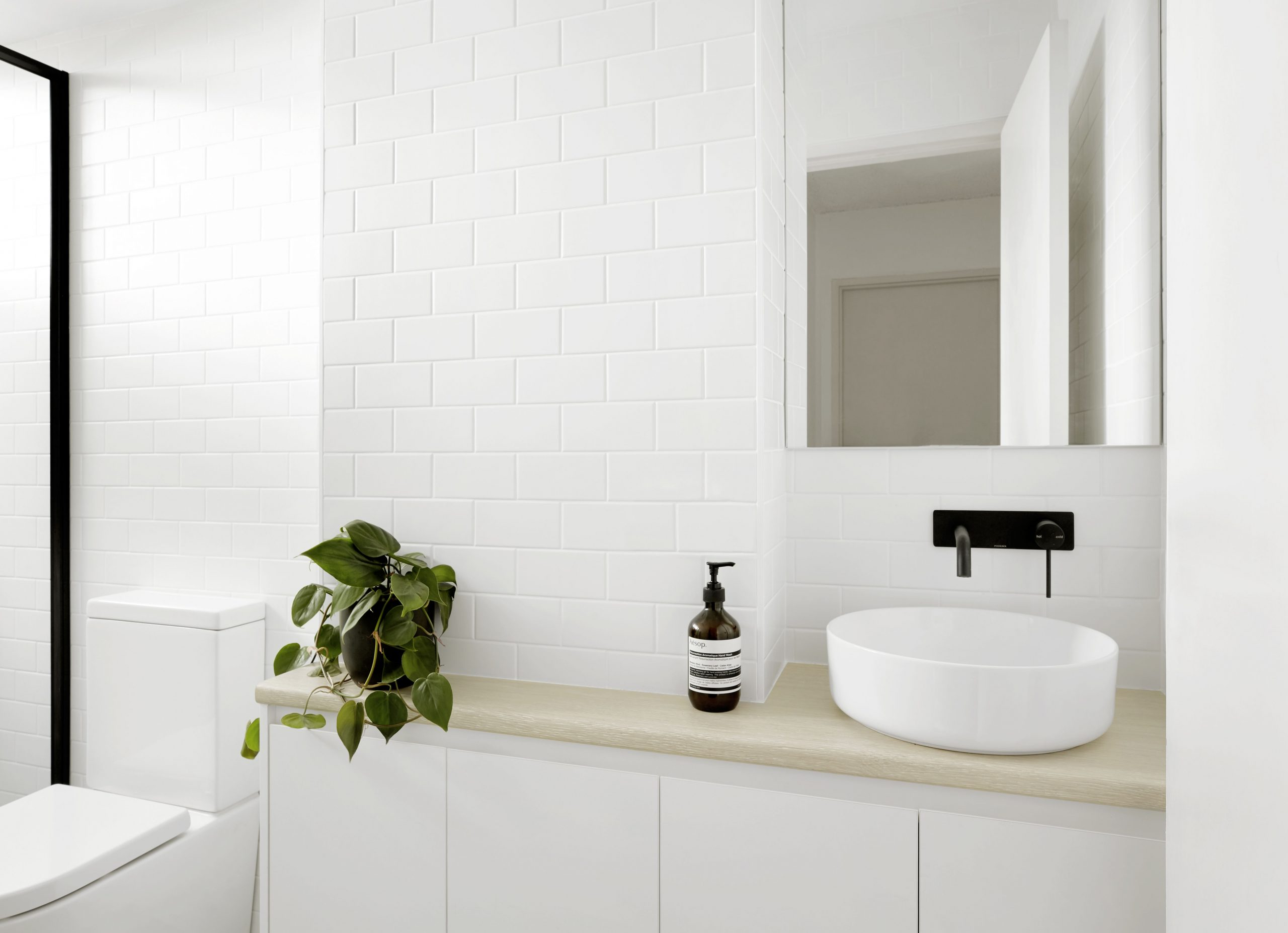 After - Fresh and contemporarty bathroom makeover