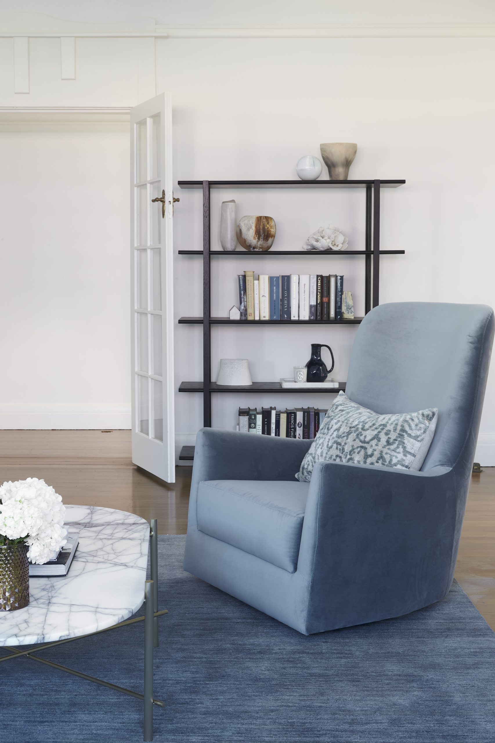 Anna McMillan Interior Designer – Cable St Project – living room